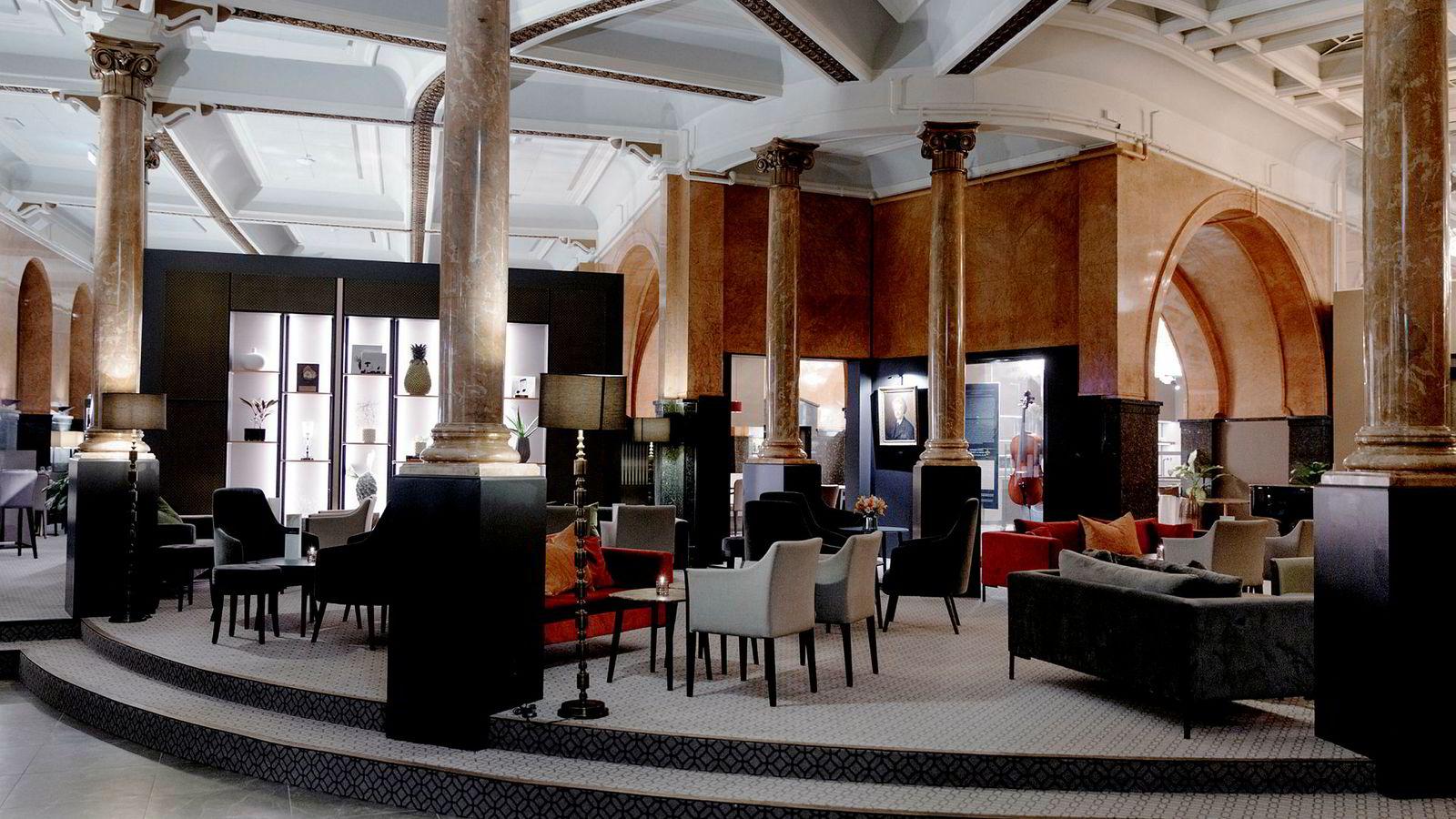 Opus XVI er et nytt luksushotell i Bergen der Edvard Griegs ånd sitter i veggene.