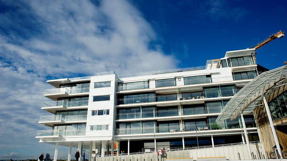 - Noen personer velger å investere store summer i Picasso eller Munch. Jeg har valgt å investere i en enestående og unik boligenhet på Tjuvholmen, sier Olav Nils Sunde om leiligheten på Tjuvholmen.