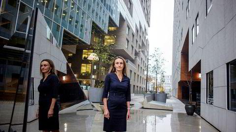 Konserndirektør Mirella Wassiluk i DNB har ansvar for at banken etterlever regler for å hindre hvitvasking og annen økonomisk kriminalitet.