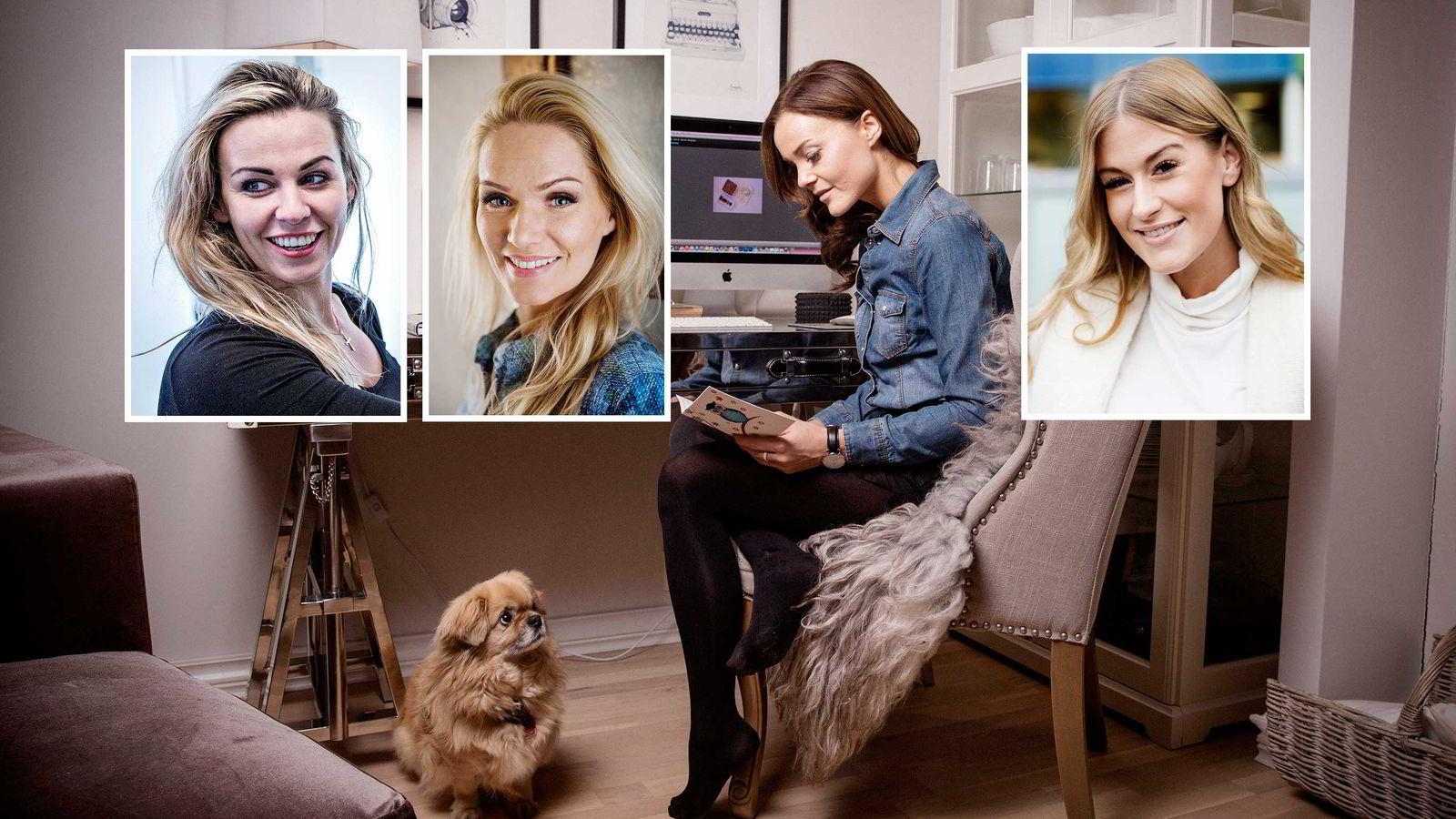 Anette Marie Antonsen, Marna Burøe, Caroline Berg Eriksen og Lene Orvik blogger for United Influencers.