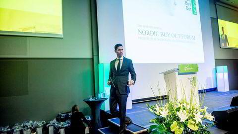 Leder for oppkjøpsfondet KKRs investeringer i Norden, Anders Borg, regner på nye oppkjøp i Norge og tror det meste av pengene i fremtiden vil gi inn i teknologidrevne selskaper. Foto: Gorm K. Gaare