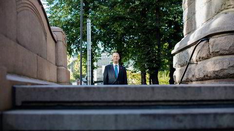 Statssekretær Tore Vamraak (H) i Finansdepartementet synes finansnæringen overdriver konsekvensene av innføringen av en finansskatt. Foto: Øyvind Elvsborg