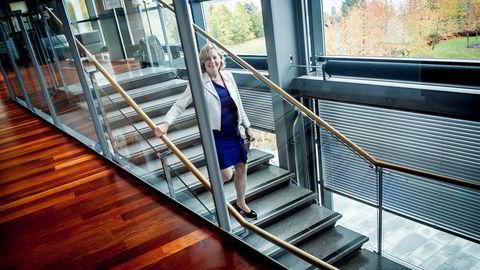Administrerende direktør Berit Svendsen i Telenor Norge vil ikke reguleres av Nkom. Foto: Gorm K. Gaare