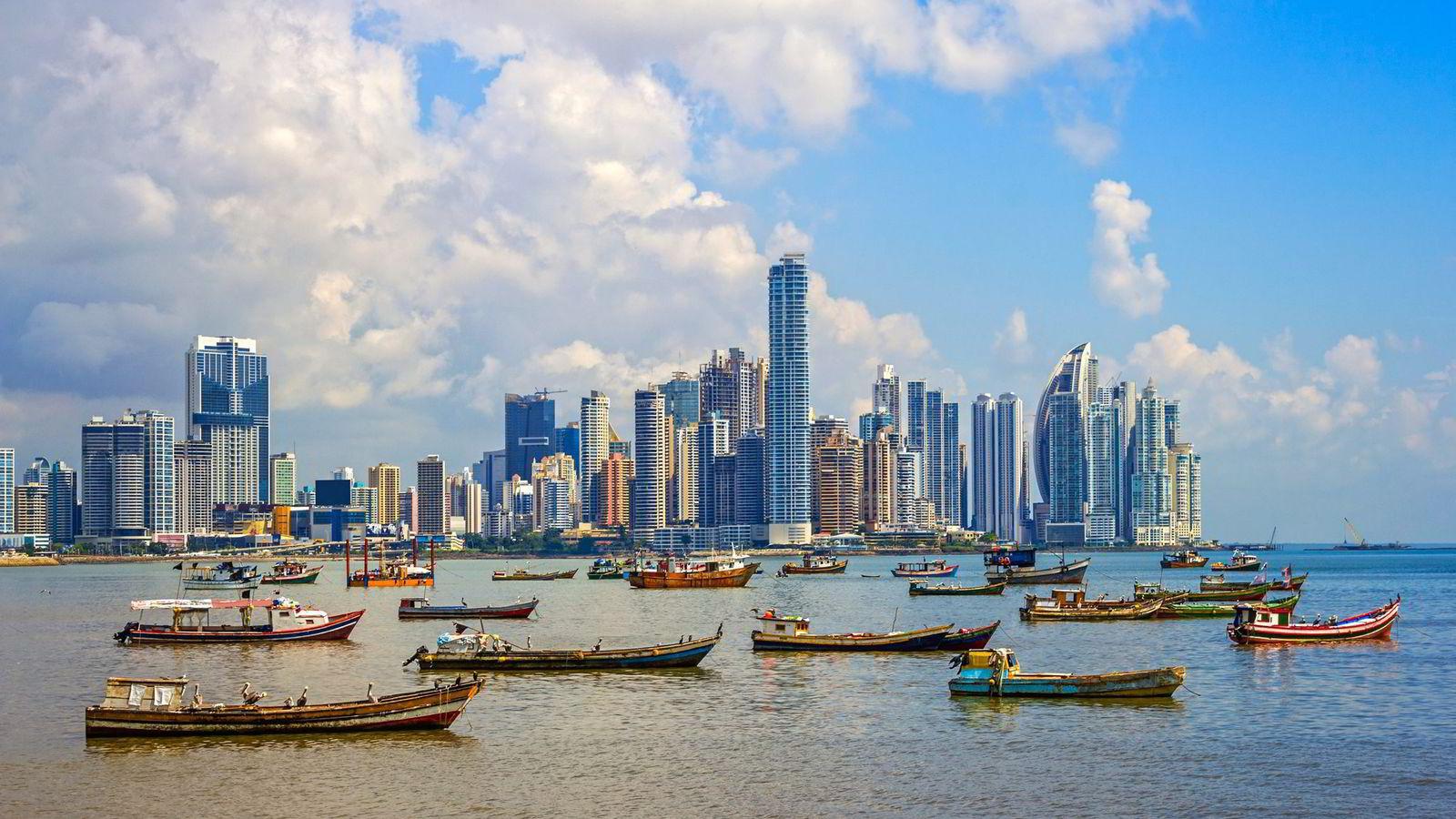 Bildet viser Panama City. Foto: Istock