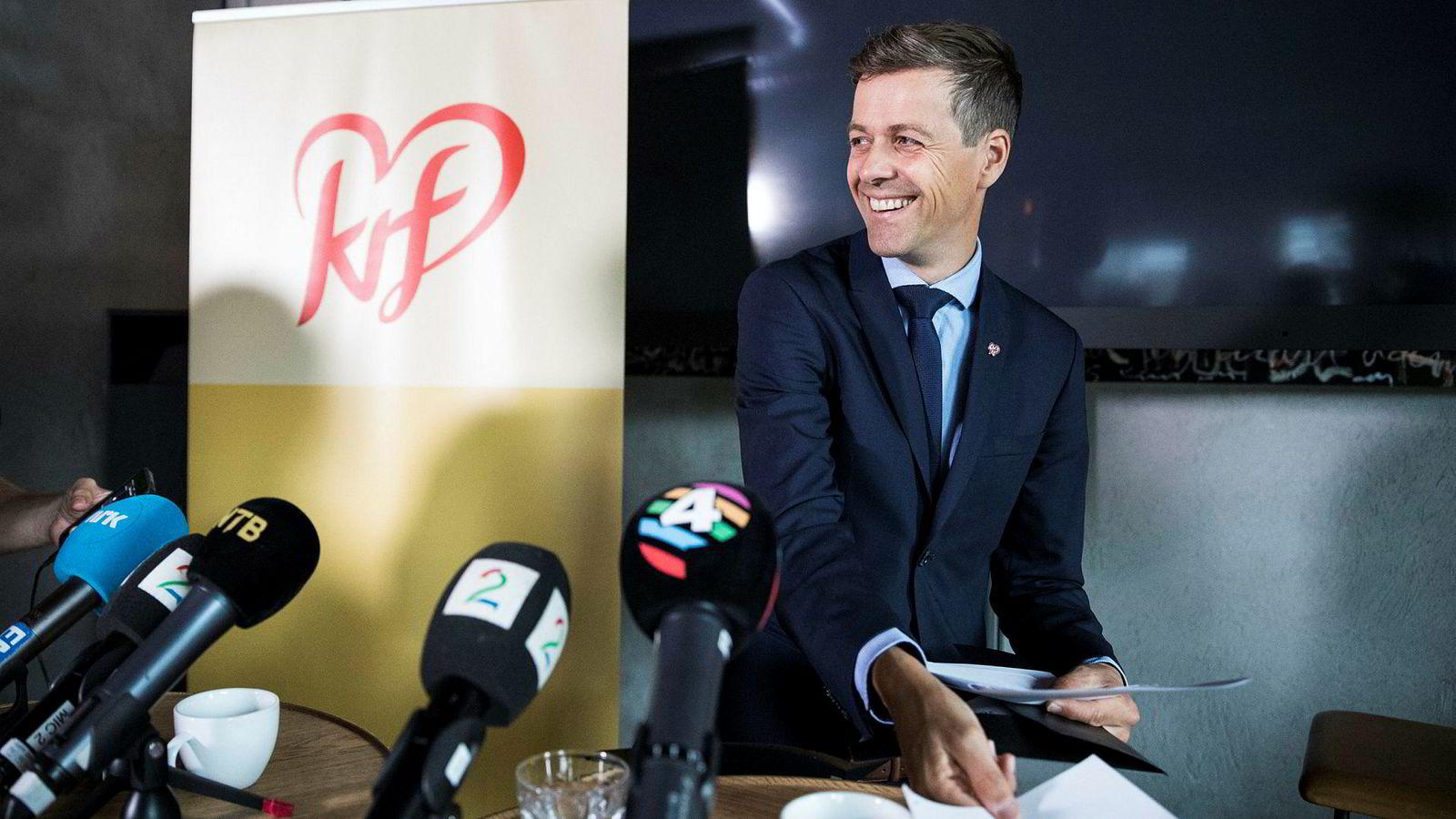 KrF-leder Knut Arild Hareide.
