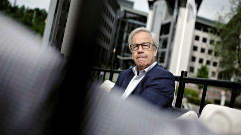 Sentralbanksjef Øystein Olsen holdt torsdag styringsrenten uendret, men holder fast på signalene om et rentehopp i september.