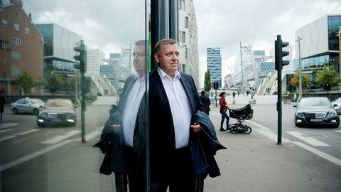 Administrerende direktør Geir A. Mo i Norges Lastebileier-Forbund er godt kjent med at medlemmer har sluttet å anmelde dieseltyveri fordi politiet henlegger sakene. Foto: Mikaela Berg