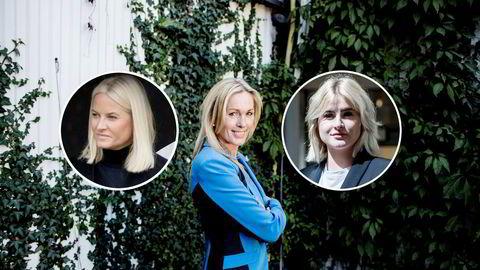 Innovasjon Norge-sjef Anita Krohn Traaseth og Ferd-arving Katharina Andresen møtte hverandre på et arrangement i regi av HKH Mette-Marit i april. Foto: Fredrik Bjerknes