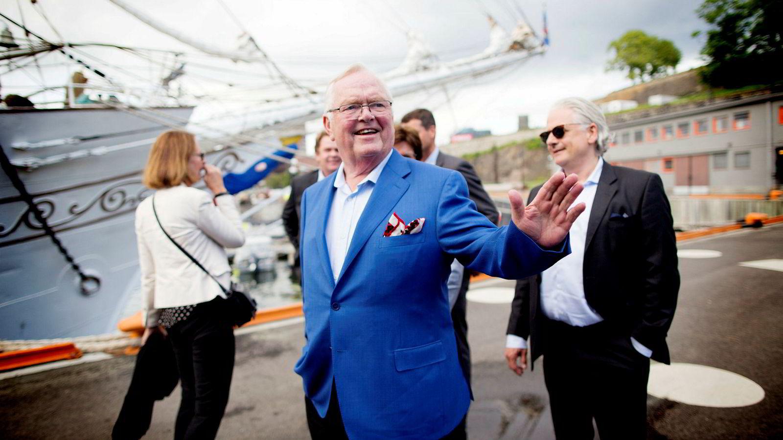 Herbjørn Hansson startet Nordic American Tankers i 1995. Han sitter i dag som både styreleder og konsernsjef i selskapet, og er blant rederiets største aksjonærer.
