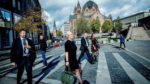 Finansminister Siv Jensen har leid hytte av en av Norges rikeste familier, Andresen, siden våren i fjor.