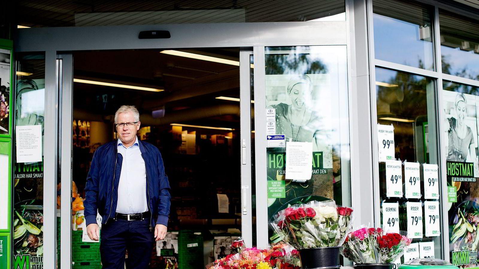Kiwi, ved sjef Jan Paul Bjørkøy, vokser mest.