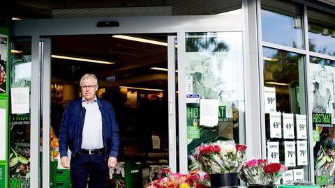 Kiwi, ved sjef Jan Paul Bjørkøy, vokser mest. Foto: Mikaela Berg