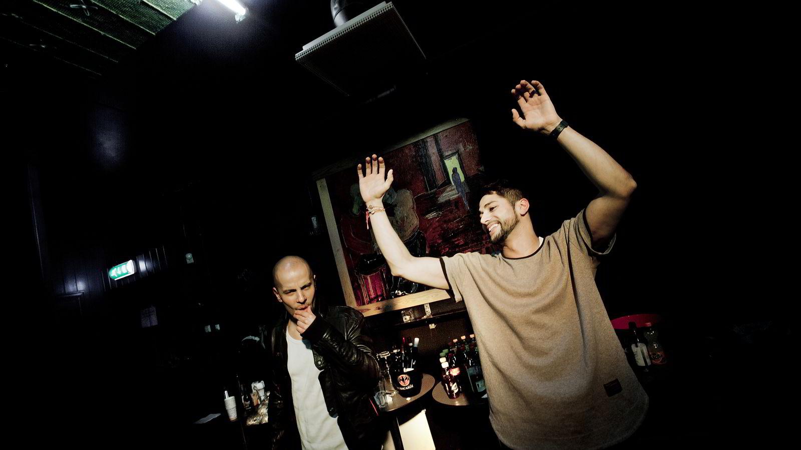 Magdi Omar Ytreeide Abdelmaguid (t.v) og Chirag Patel under en konsert på Lillehammer i 2012 Foto: Linda Næsfeldt