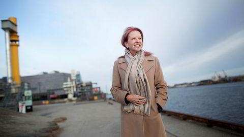 Global energianalytiker i konsulentbyrået KPMG, Regina Mayor, på Stavanger-besøk. Hun er normalt basert i Houston, men rådgir kunder verden over.