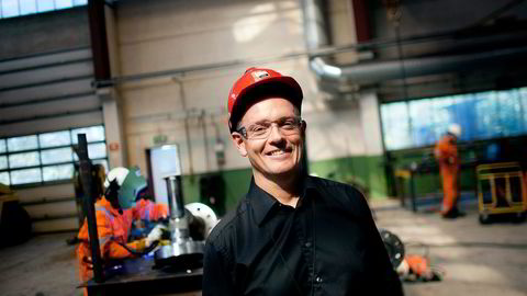 Sjef Ståle Kyllingstad av IKM-konsernet er i ferd med å ferdigstille en kontrakt i Iran til en verdi av rundt 100 millioner kroner. Foto: Tomas Larsen