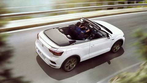 Volkswagen T-Roc Cabriolet debuterer under Frankfurt-utstillingen i høst.