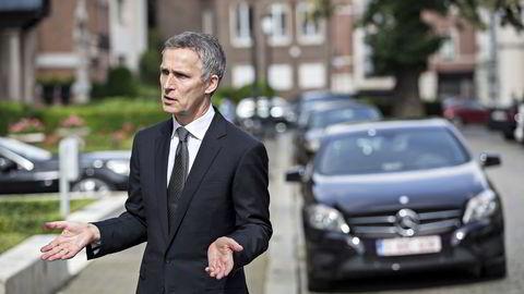 Natos generalsekretær Jens Stoltenberg. Foto: Aleksander Nordahl