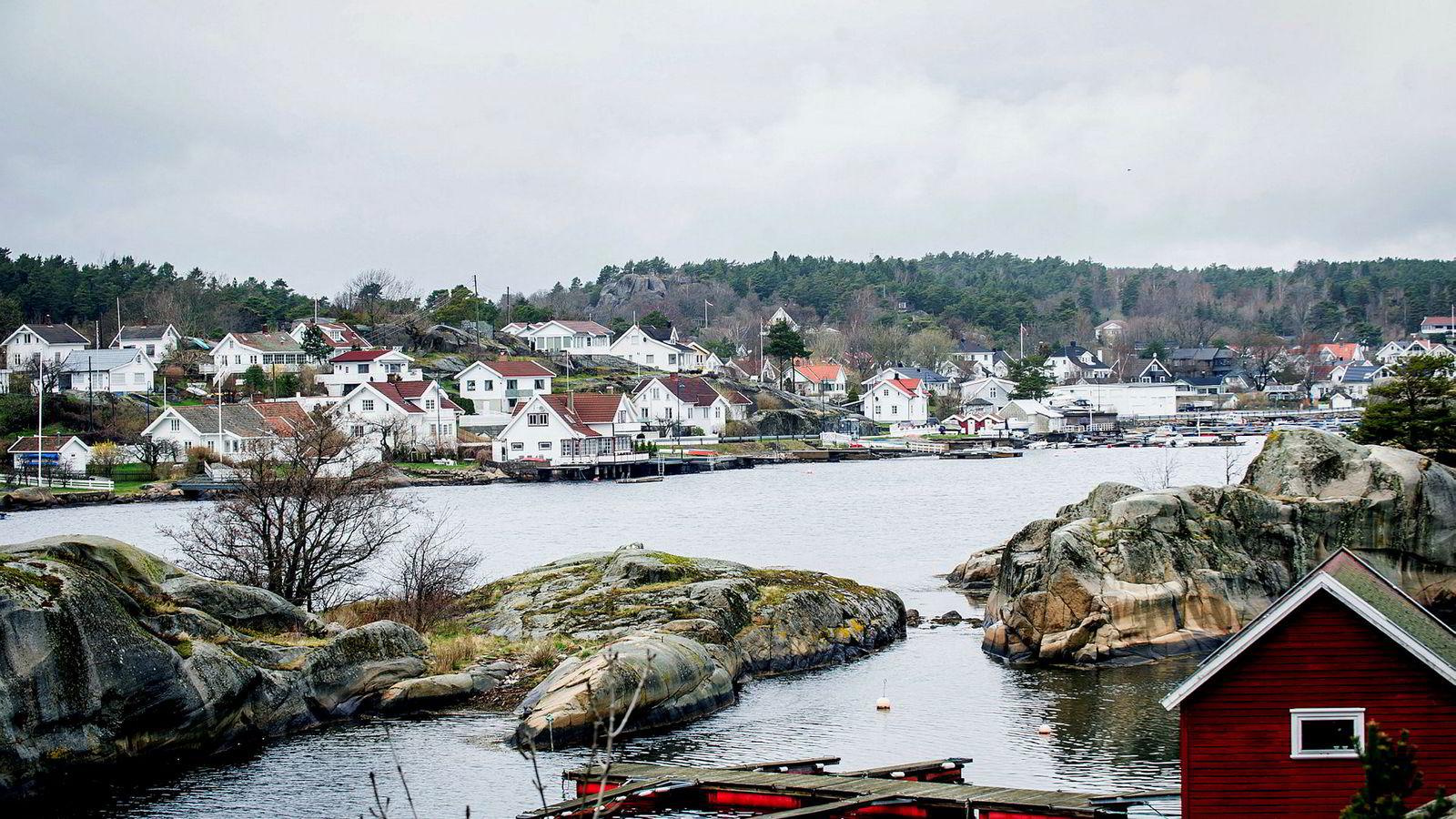 Området rundt Tjøme og Nøtterøy er landets dyreste hva gjelder sjøhytter.