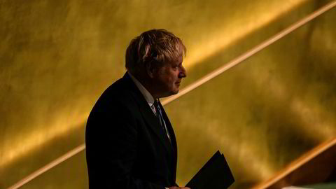 Utfordrende tider for Storbritannias statsminister Boris Johnson.