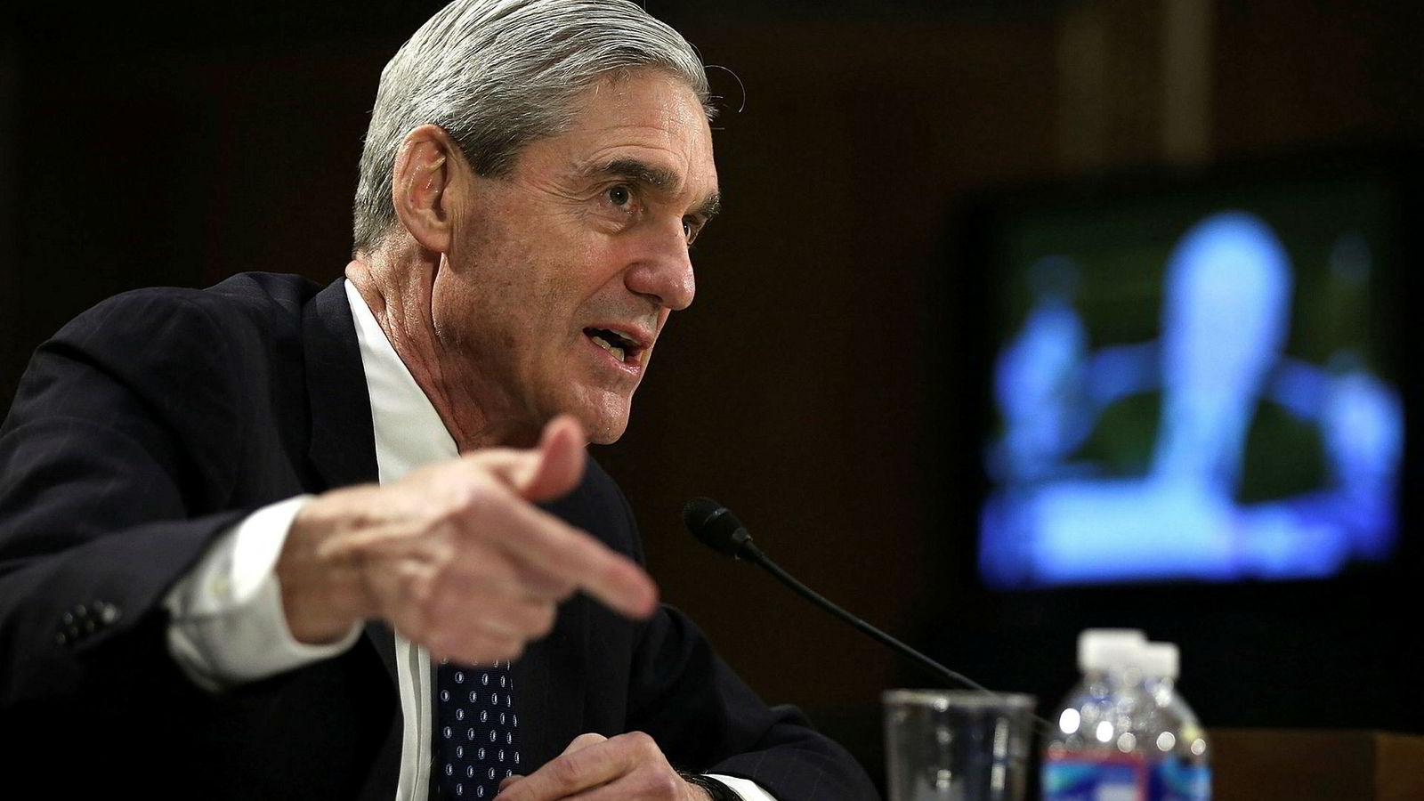 Spesialetterforsker Robert Mueller har rettet et hardt slag mot russisk etterretning.