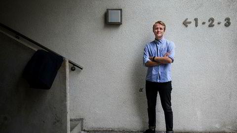 Leder i Norsk studentorganisasjon, Håkon Randgaard Mikalsen, mener staten må slutte å finansiere petroleumsforskning.