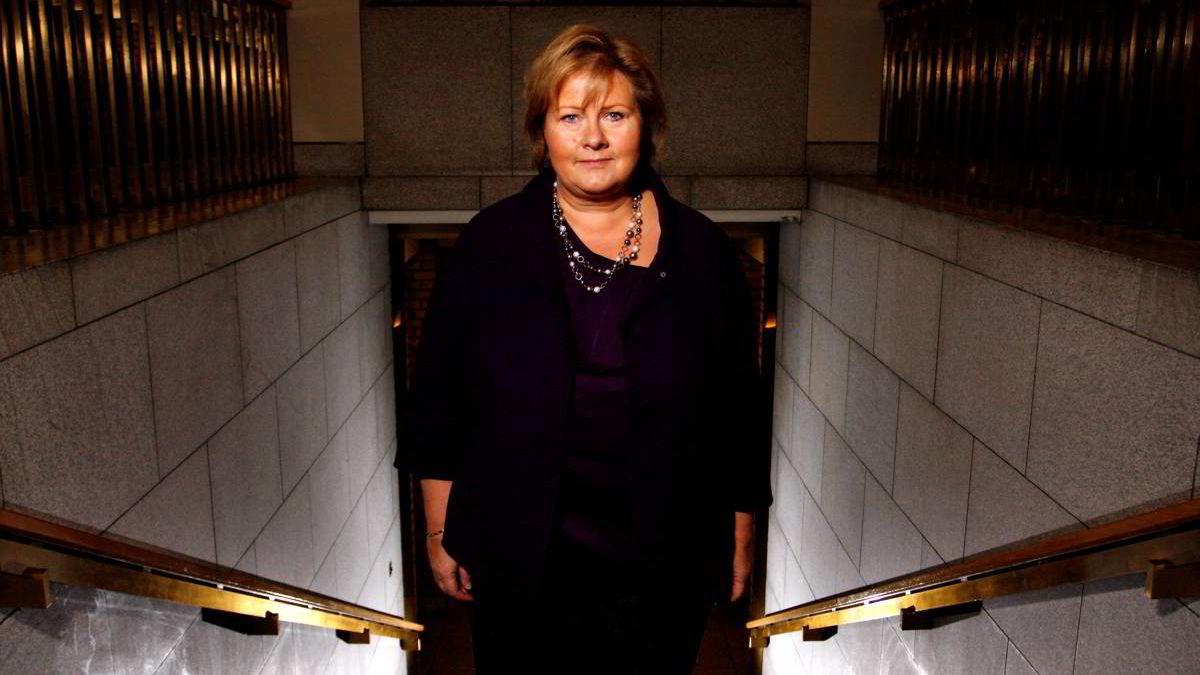 -  Dannelse er fint, men den kommer ikke alltid gjennom diktanalyse, sier Høyre-leder Erna Solberg.