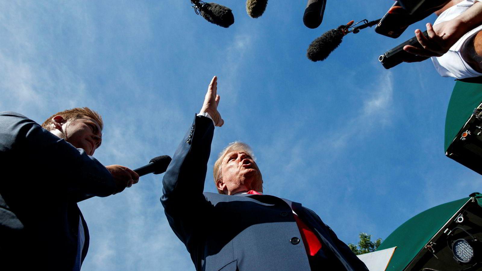 Trumps aggressive alenegang har utviklet seg til en trussel mot verdensøkonomien, og mot den regelbaserte multilaterale frihandelslinjen som en gang var et av Vestens mest verdsatte bidrag til å fremme fred, frihet og velstand i verden, skriver artikkelforfatteren.