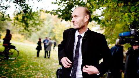 Administrerende direktør Knut Olav Åmås måtte i sitt første år som toppsjef ta en av stiftelsens aller største tap noensinne.                   Foto: Ida von Hanno Bast