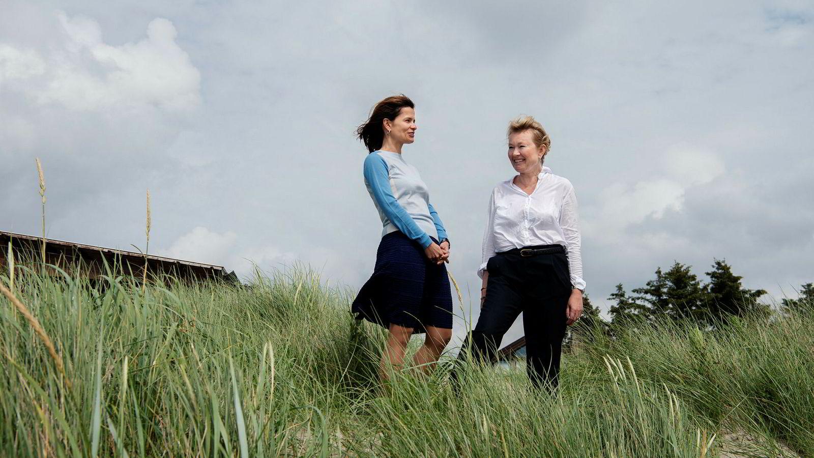 Ana Fonseca Nordang (42) (til venstre) blir ny personaldirektør og Siv Helen Ryge Torstensen (49) ny juridisk direktør i energikjempen Equinor.