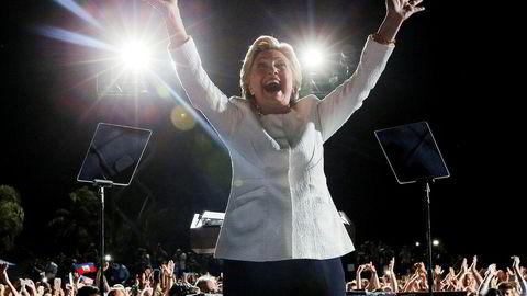 Hillary Clinton kommer til Norge i forbindelse med 8. mars.