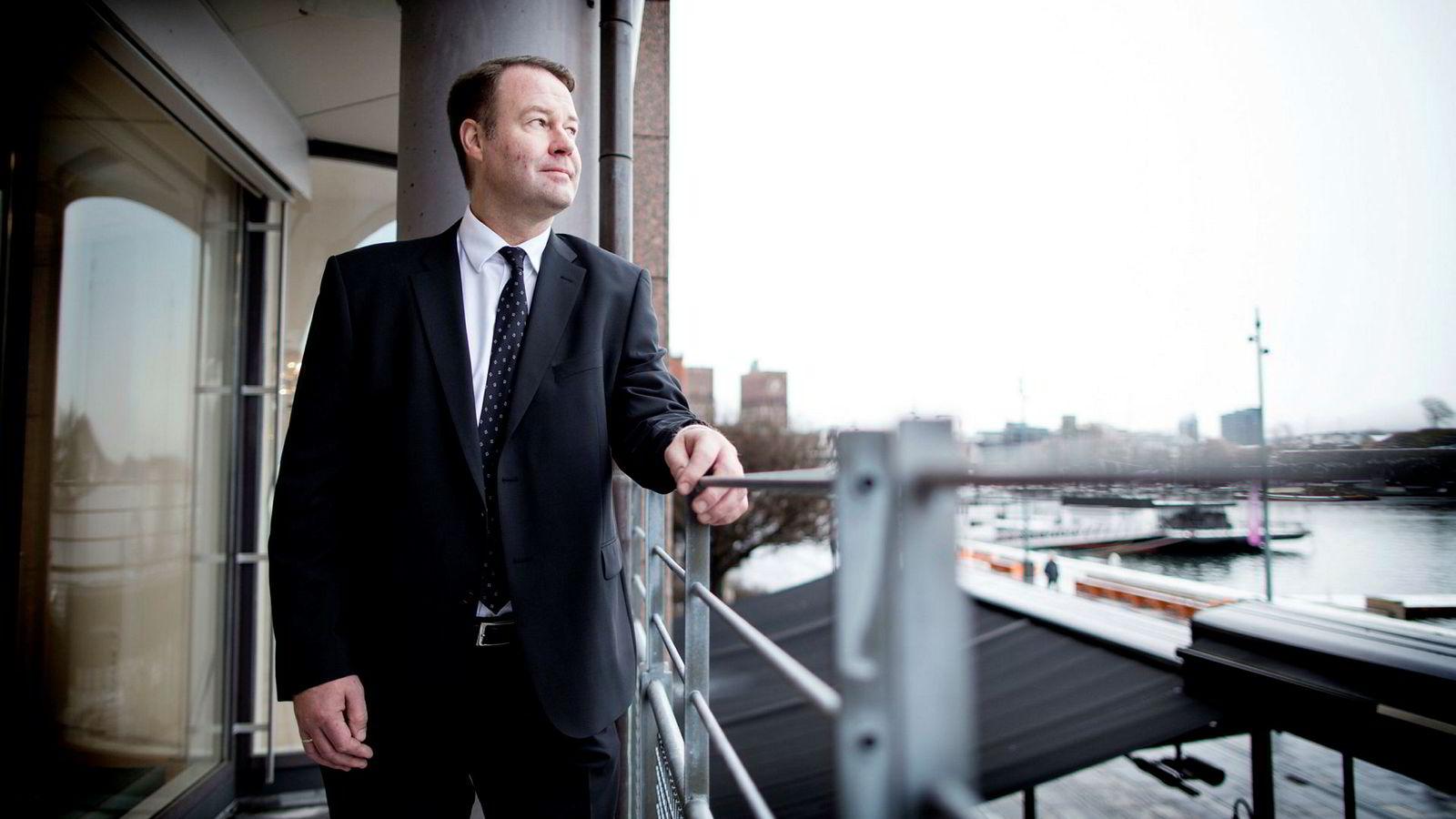 Danske Bank-topp Trond F. Mellingsæter tror den kraftige boligprisveksten vil avta betydelig. – Vi tror på en flat prisutvikling i hvert fall ut året, sier Mellingsæter.