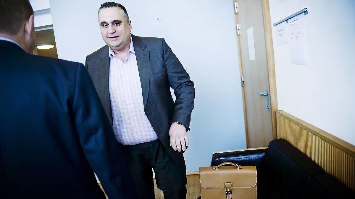 I november i 2012 ble finansakrobaten Christer Tromsdal dømt til seks års fengsel. Bildet er tatt i oktober 2012.