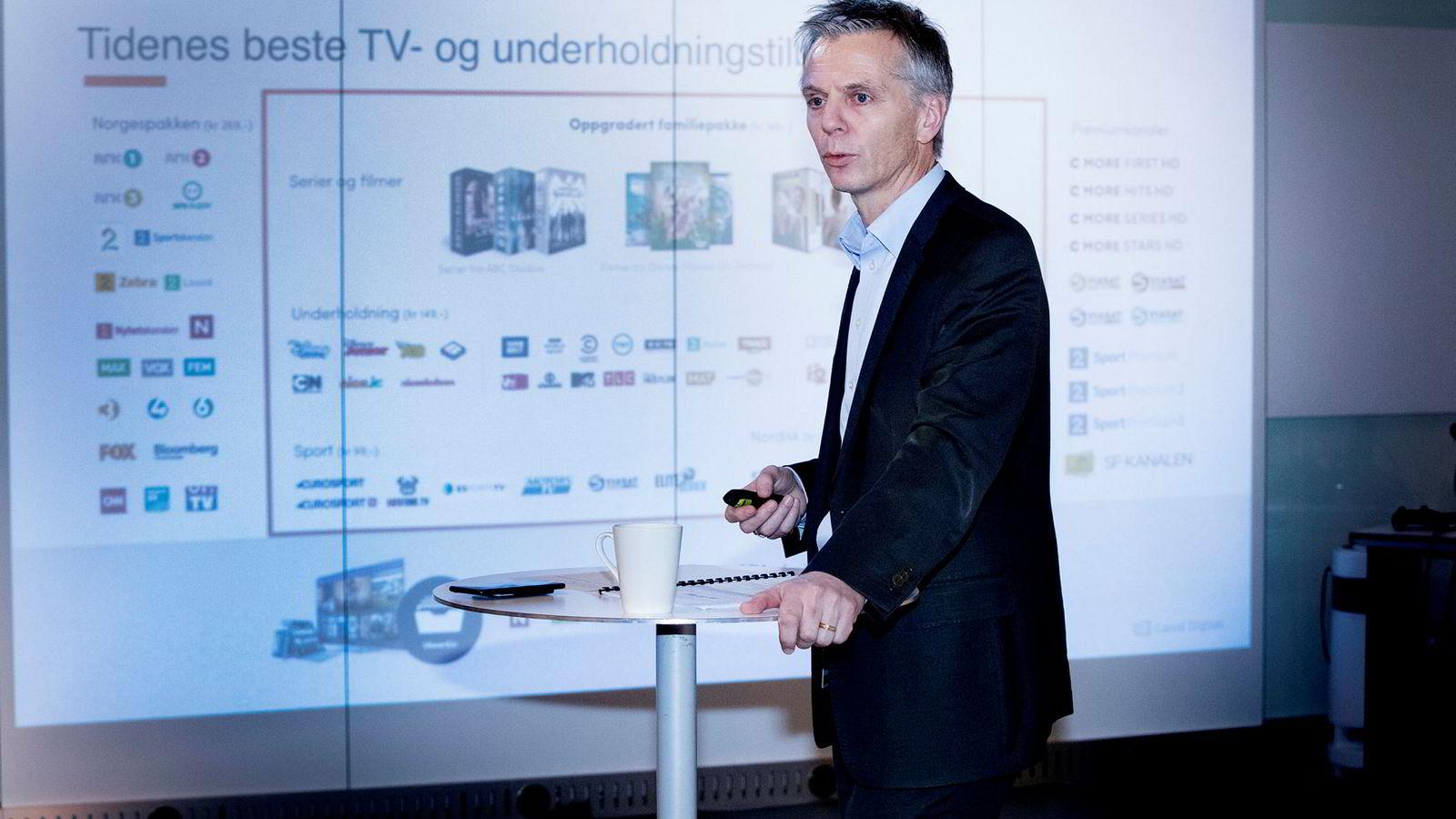 - Det er fortsatt enkelte diskusjoner som gjenstår, men det er svært sannsynlig at vi kommer fram til en god avtale for våre kunder, sier Ragnar Kårhus, administrerende direktør i Canal Digital i en pressemelding.