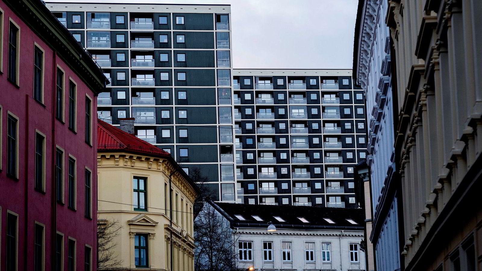Dyre forbrukslån brukes til å komme inn på boligmarkedet (illustasjonsfoto fra Oslo)