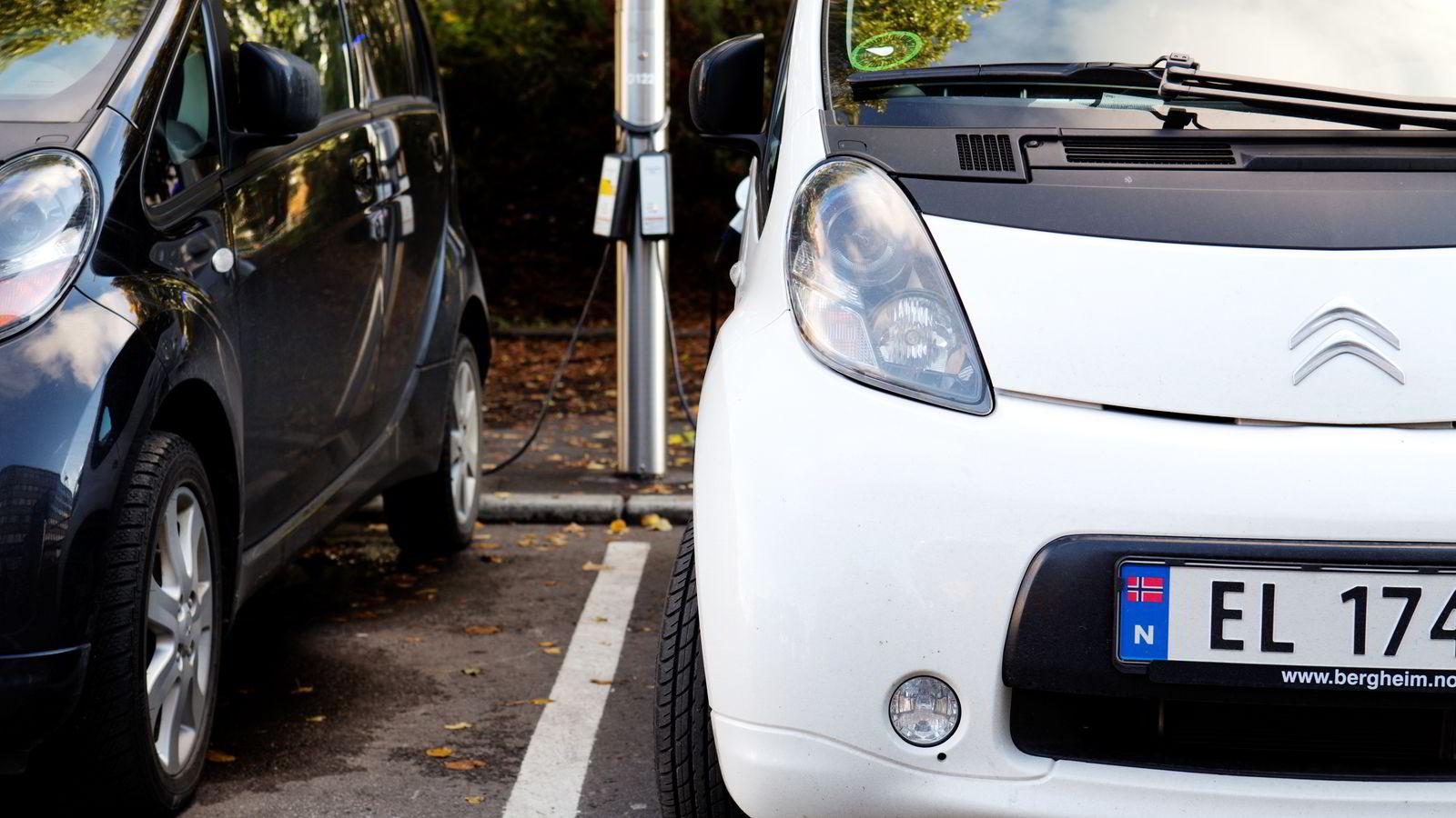 Kan leases.  Momsfritak på elbil-leasing godkjent fra Brüssel