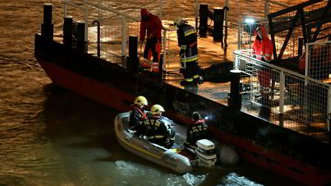 Totalt 35 personer var om bord på båten Hableány som sank på elva Donau onsdag kveld.