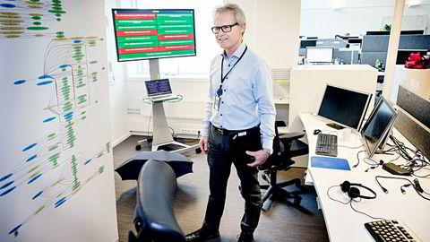 Per Morten Ek i Skatteetaten sier et fiaskoprosjekt for 15 år siden var forrige gang de leide inn it-konsulenter på fastpriskontrakt. Foto: Øyvind Elvsborg