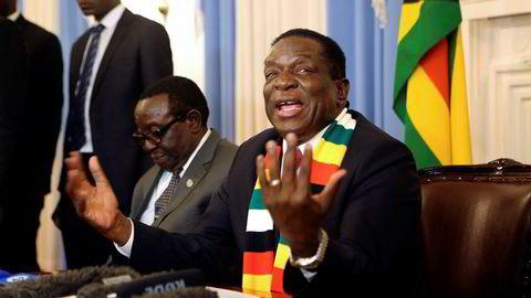 Zimbabwes nyvalgte president Emmerson Mnangagwa har en stor jobb å gjøre med å tiltrekke seg utenlandske investorer.