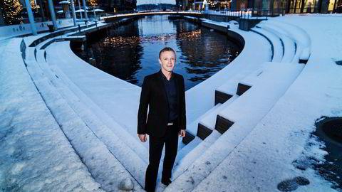 Martin Mølsæter satser stort på oljeselskapet DNO.                    Foto: Per Thrana