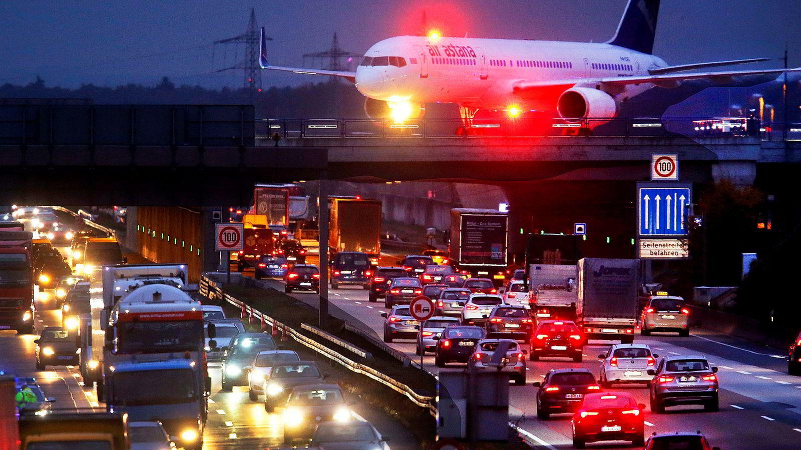 En tysk fagforening kan stikke kjepper i flyhjulene i Frankfurt førstkommende tirsdag.