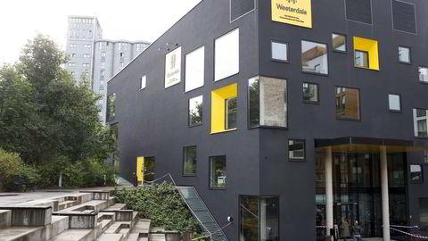 Den kreative privatskolen Westerdals er en av skolene som eies av brødrene Løvenskiold. Foto: Fredrik Solstad
