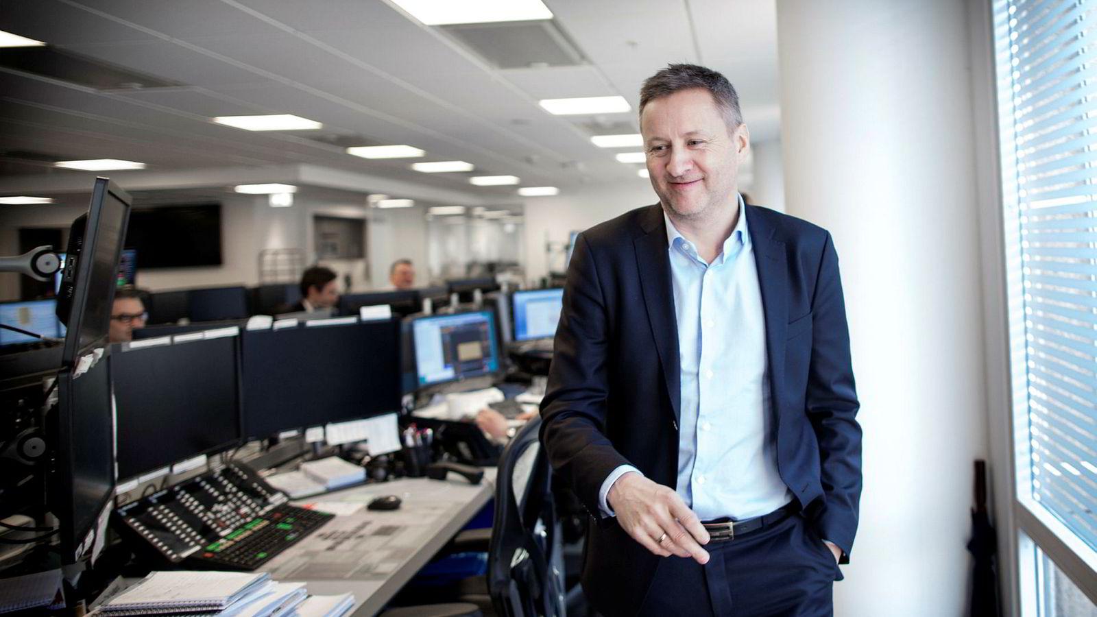 Sjeføkonom Frank Jullum i Danske Bank tror Norges Bank vil heve rentene i 2019.