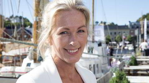 Direktør Anita Krohn Traaseth i Innovasjon Norge under Arendalsuka 2016. Foto: Terje Bendiksby