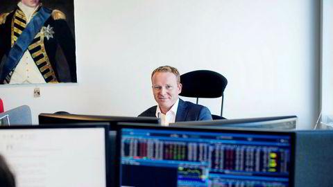 Analysesjef Lars-Daniel Westby Sparebank 1 Markets har tro på oljeselskapet DNO denne uken. Foto:Øyvind Elvsborg.