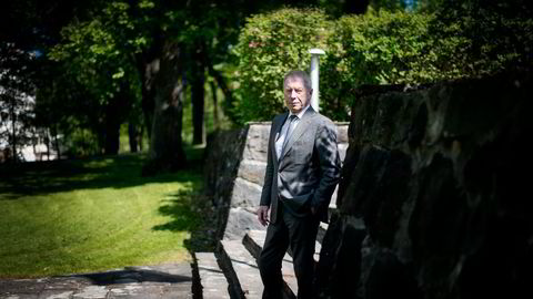 Driften er klart friskmeldt, sier Jens Ulltveit-Moe som kan vise til positive tall i Umoe Gruppen. Foto: Mikaela Berg