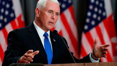 Straffetollen på meksikanske varer blir ikke utsatt, ifølge USAs visepresident Mike Pence.