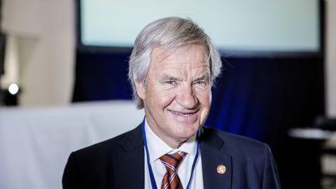 Norwegian-sjef Bjørn Kjos.  Foto: Fredrik Bjerknes