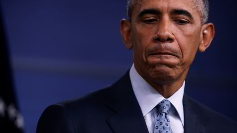 President i USA, Barack Obama, er bekymret for voldsutbrudd dersom Trump taper. Foto: REUTERS/Jonathan Ernst