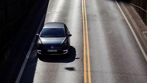 Volkswagen Golf var den mest solgte nybilen i Norge i juli. De fleste av dem elektrisk.