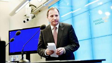 Klokken tikker for Socialdemokraternas partileder og statsminister Stefan Löfven (S). Om én uke går sonderingsperioden ut.